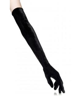 Samt-Handschuhe lang - AT12142