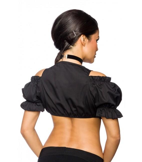 Dirndl-Bluse schwarz - AT12176