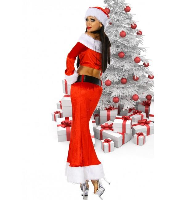 4-teiliges Weihnachtskostüm