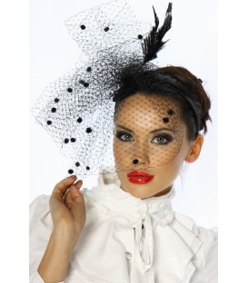 Designer-Minihut / Fascinator - AT12203