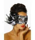 Maske mit Spitze und Pailletten - AT12305
