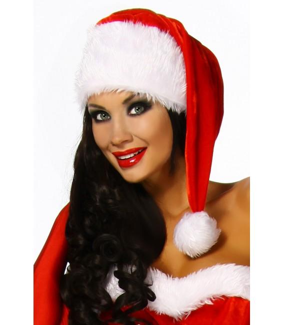kuschlige Weihnachtsmütze