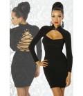 Kleid mit Schnürung - AT12439