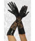 Wetlook-Handschuhe mit Spitze - AT12446