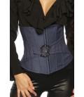 Taillen-Corsage aus Jeans - AT12449