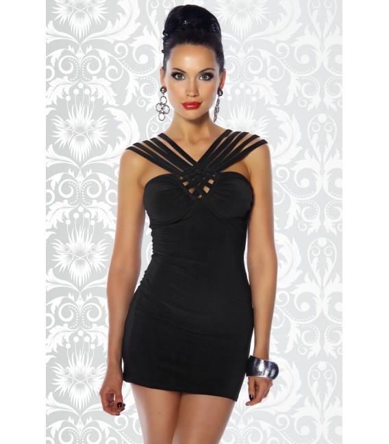 Minikleid schwarz - AT12482