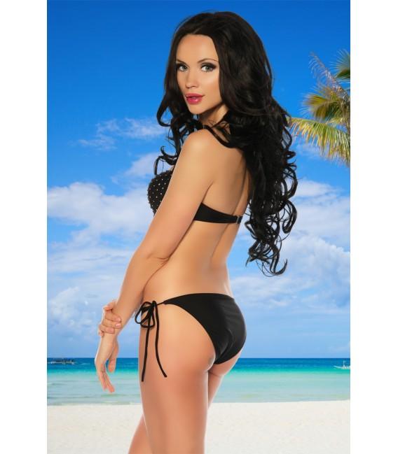 Push-Up Bikini schwarz - AT12555