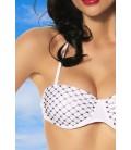 Push-Up Bikini weiß - AT12555