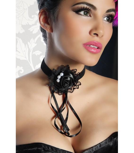 Halsband schwarz - AT12639
