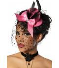 Burlesque-Minihut / Fascinator - AT12680