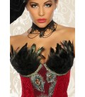 Burlesque-Corsage rot - AT12788