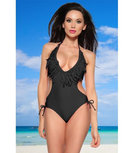 hochwertiger Fransen-Bikini Großbild