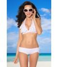 Blümchen-Bikini weiß - AT12897