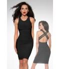 Cocktail-Kleid schwarz - AT12927