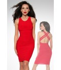 Cocktail-Kleid rot - AT12927