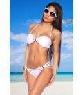 Bandeau-Bikini weiß - AT12963