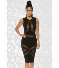 Partykleid schwarz - AT13050