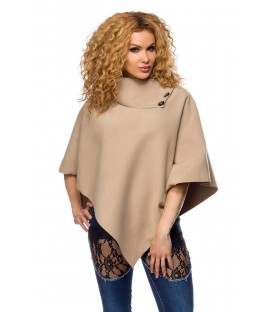 Poncho beige - AT13061