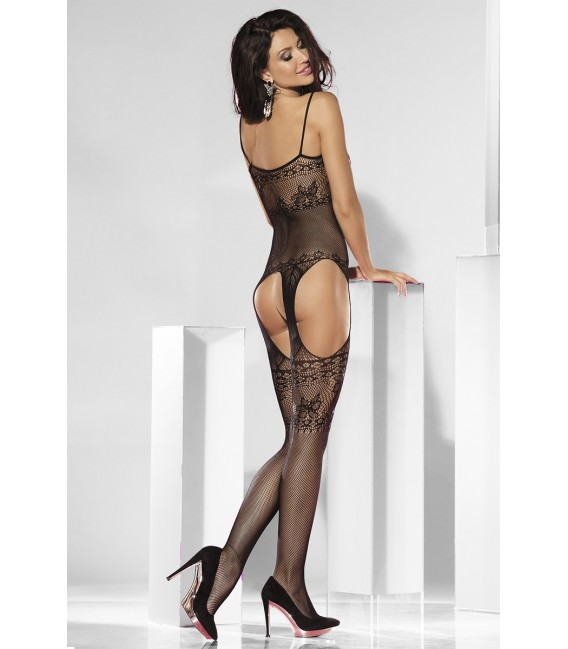 Straps-Bodystocking ouvert - AT13084