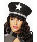 Offiziersmütze schwarz - AT13101
