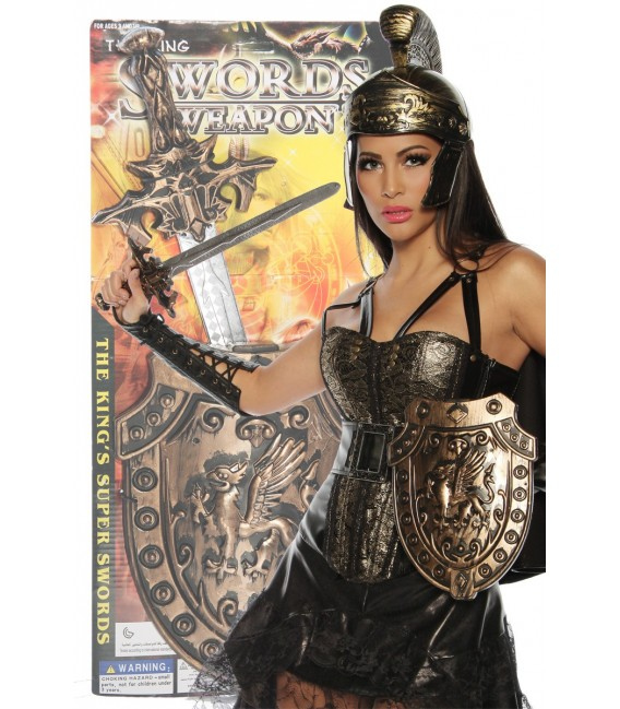 Großbild Römerset Schwert und Schild - AT13322