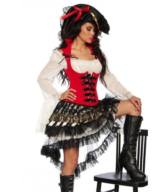 zweiteiliges Piratenkostüm