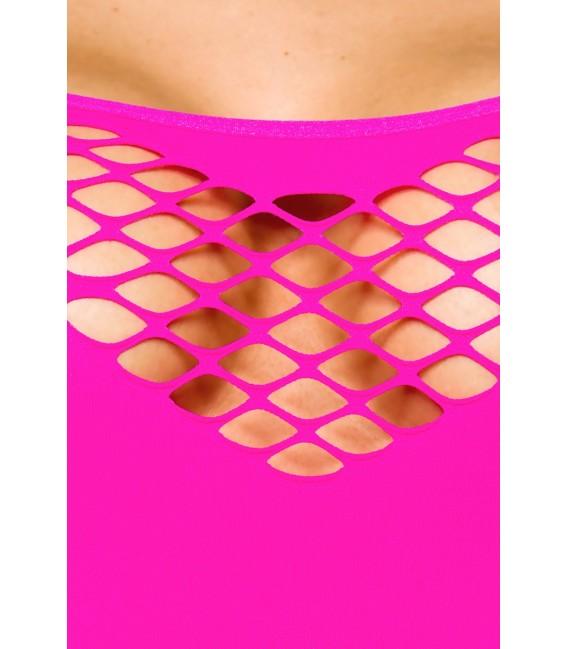 Tube-Kleid mit Cutouts und schmalen Trägern