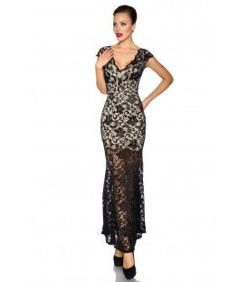 Abendkleid mit Spitze - AT13673