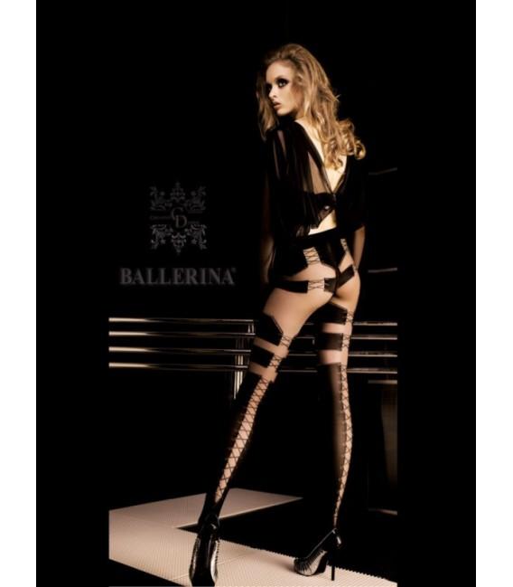 Stockings BA Art. 048 Schwarz Strumpfhose 20den/60den Großbild