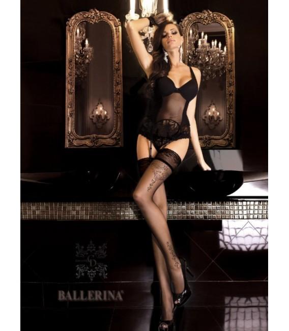 Stockings BA Art. 262 schwarz halterlose Strümpfe Großbild