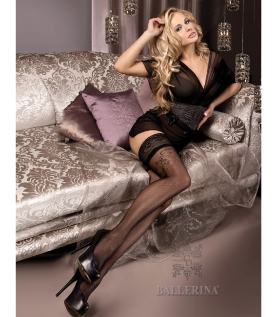 Stockings BA Art. 243 schwarz halterlose Strümpfe