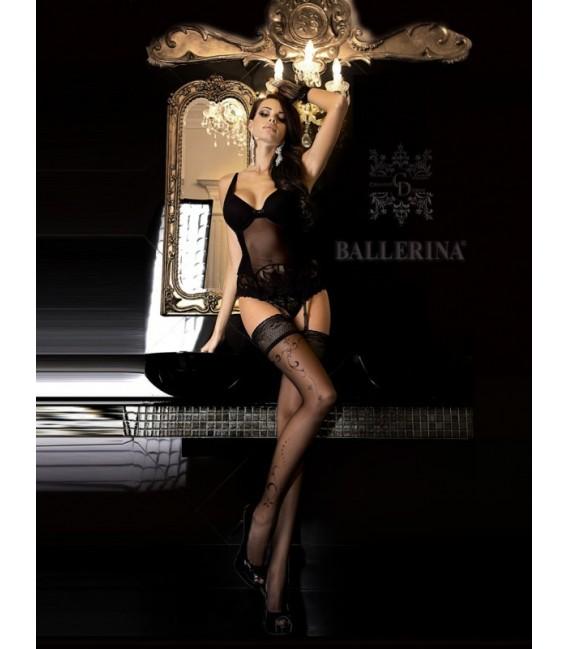Stockings BA Art. 246 schwarz halterlose Strümpfe Großbild