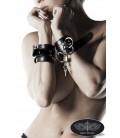 Leder-Handschellen von Grey Velvet - AT13905