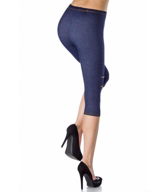 Großbild Capri-Leggings in Jeans-Optik - Bild 3