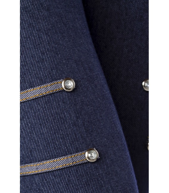 Großbild Capri-Leggings in Jeans-Optik - Bild 4