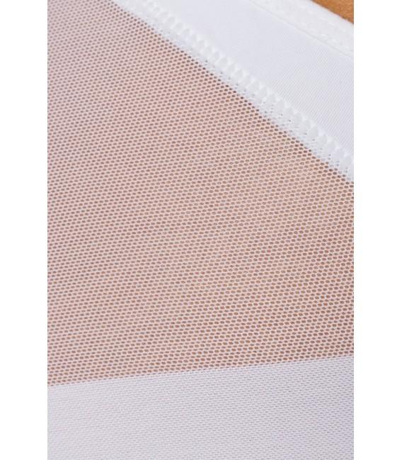 formender Slip mit Tanga-Effekt weiß - Bild 4 Großbild