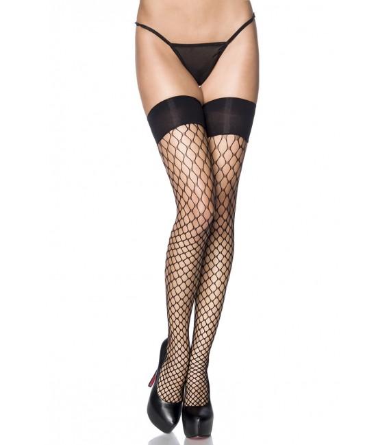 Stockings in Netzoptik