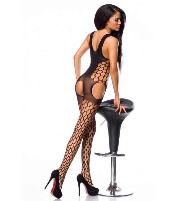 Bodystocking in grober Netzoptik