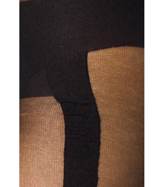 Bodystocking im Lingerie-Look und Straps-Optik