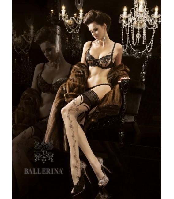 Stockings BA Art. 174 skin-schwarz halterlose Strümpfe Großbild