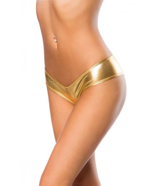Metallic-Panty gold - AT14105