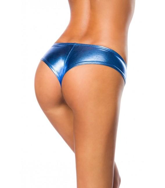 Metallic-Panty metallic-blau - AT14105