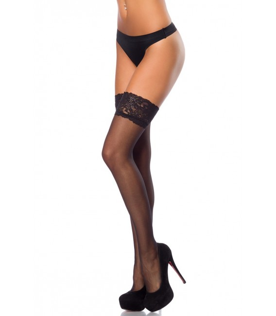 Stockings schwarz - AT14112
