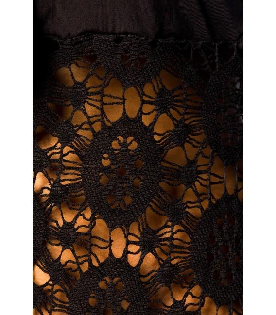 Strandkleid mit Bindeband im Brustbereich
