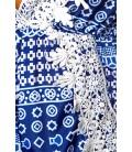 luftiger Jumpsuit blau/gemustert - AT14232