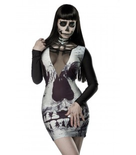 Skull Minikleid - AT14350