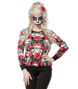Skulls and Roses Sweatshirt - AT14386