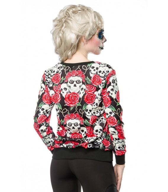 Skulls and Roses Sweatshirt - AT14386