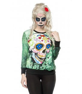 Skull Sweatshirt - AT14389