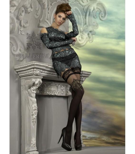 Stockings BA Art. 221 schwarz halterlose Strümpfe